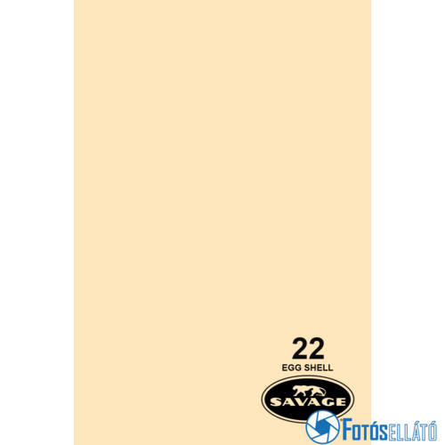 Savage Papírháttér 2.72m x 11m (22 egg shell)