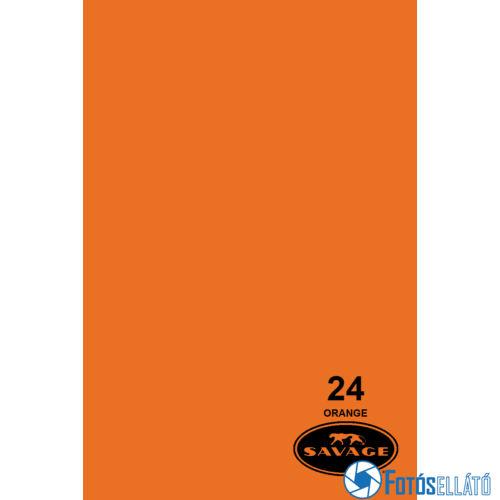 Savage Papírháttér 2.18m x 11m (24 orange )