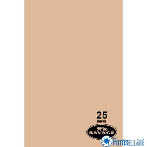 Savage Papírháttér 2.18m x 11m (25 beige )