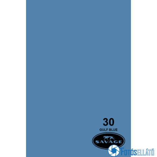 Savage Papírháttér 2.18m x 11m (30 gulf blue)