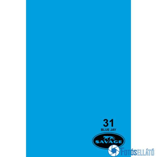 Savage Papírháttér 1.35m x 11m (31 blue jay)