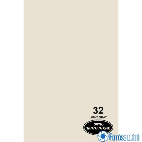 Savage Papírháttér 1.35m x 11m (32 light grey)