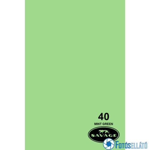 Savage Papírháttér 1.35m x 11m (40 mint green)