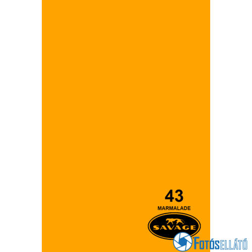 Savage Papírháttér 2.18m x 11m (43 marmalade )