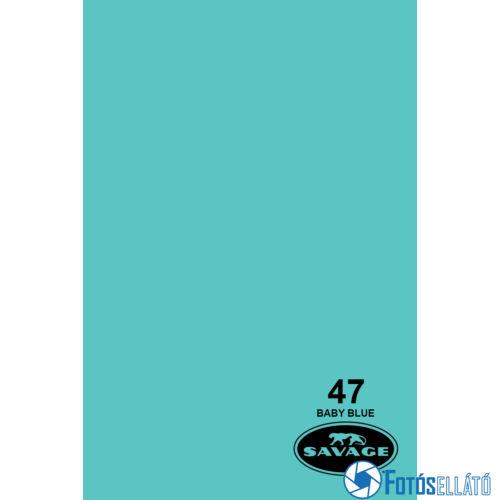 Savage Papírháttér 1.35m x 11m (47 baby blue)