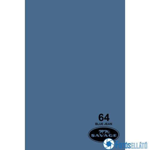 Savage Papírháttér 2.72m x 11m (64 blue jean)