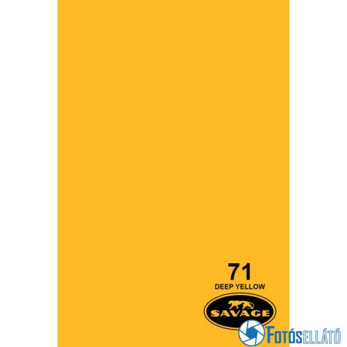 Savage Papírháttér 1.35m x 11m (71 deep yellow)