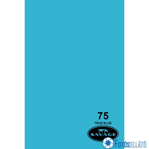Savage Papírháttér 1.35m x 11m (75 true blue)