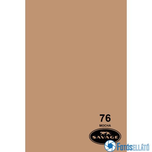 Savage Papírháttér 1.35m x 11m (76 mocha )