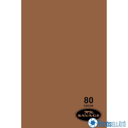 Savage Papírháttér 2.72m x 11m (80 cocoa )