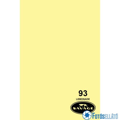 Savage Papírháttér 2.72m x 11m (93 lemonade )
