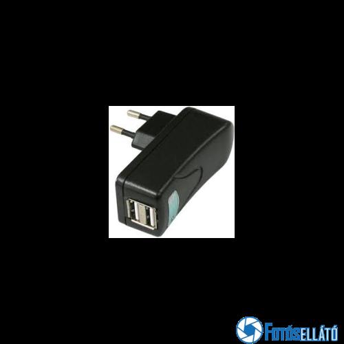 Valueline Usb fali töltő, 2 portos, fekete