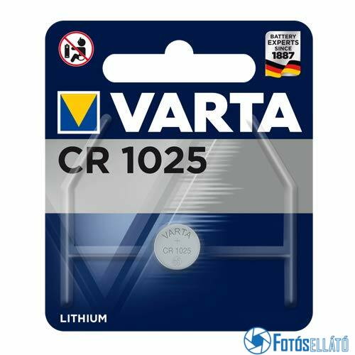 Varta CR1025 Lítium elem