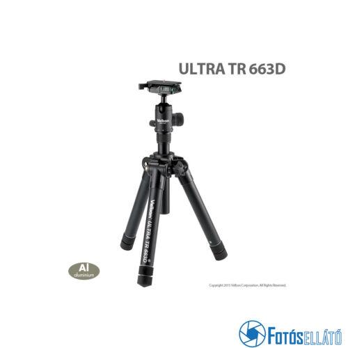 Velbon Ultra tr 663d állvány