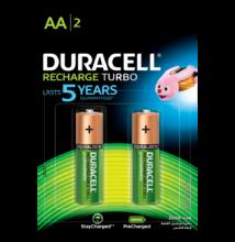 Duracell duralock recharge ultra 2500 mah - aa - 2db / cs