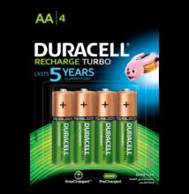 Duracell duralock recharge ultra 2500 mah - aa - 4db / cs