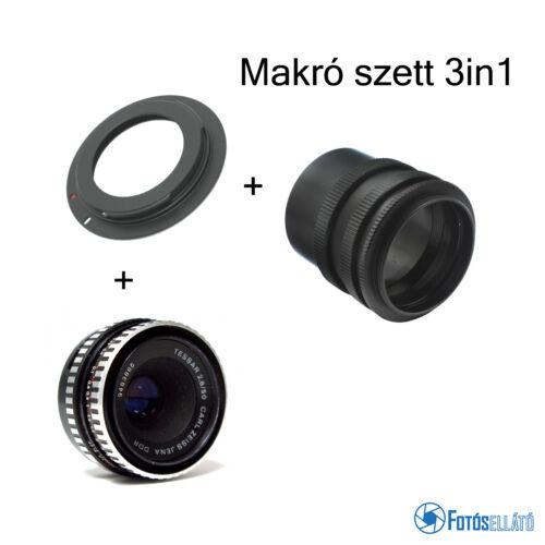 Makró objektív szett (3in1) - Canonra