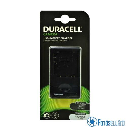 Duracell Sony np-bx1 / olympus li-90b li-ion akkumulátortöltő utángyártott (usb-s)