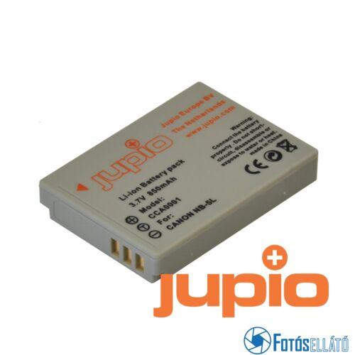 Jupio fényképezőgép akkumulátor canon nb-5l 850 mah
