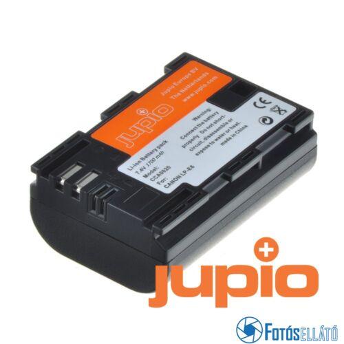 Jupio fényképezőgép akkumulátor canon lp-e6 1700 mah