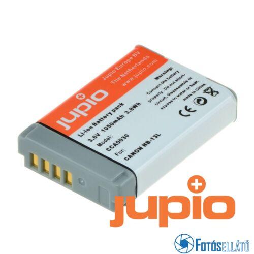 Jupio fényképezőgép akkumulátor canon nb-13l, 1050 mah