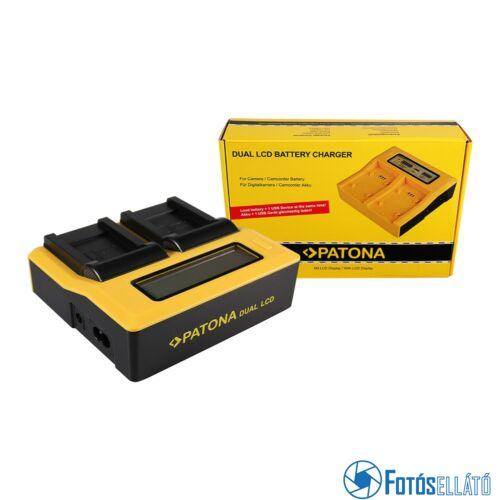Patona DUPLA LCD USB AKKUMULÁTOR TÖLTŐ OLYMPUS LI-70B FE FE4020 FE-4020 FE4040 FE-4040 FE5040 FE-5040