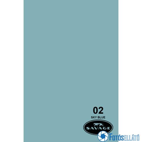 Savage Papírháttér 2.72m x 11m (02 sky blue)